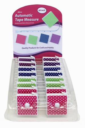 Tape Measure - Polka Dot - Assorted colors