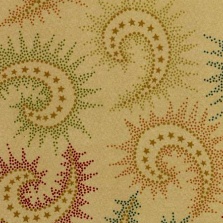 PAISLEY - DARK TAN SPICED