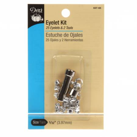 Dritz Eyelet Setting Kit with Eyelets and Tool 5/32in