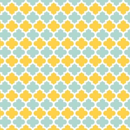Yellow Quarterfoil