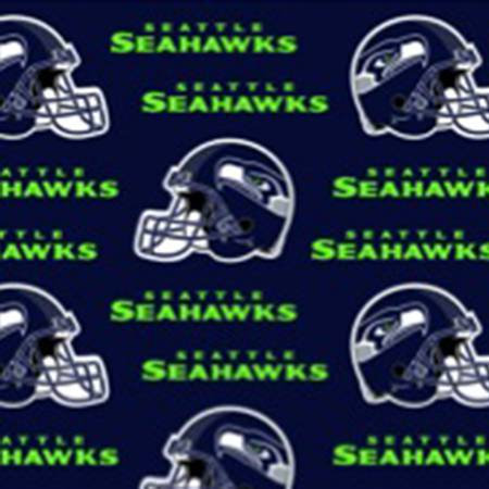 NFL Seattle Seahawks Cotton 60in