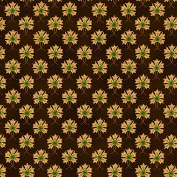 Brown Set Flower