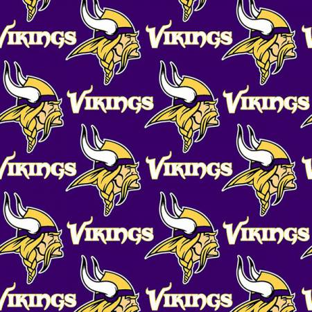 NFL Minnesota Vikings Cotton 60in