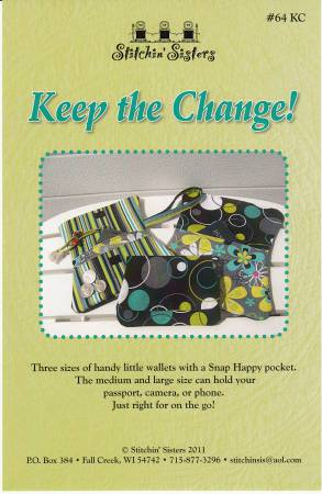 Keep the Change - A Snap Happy Wallet