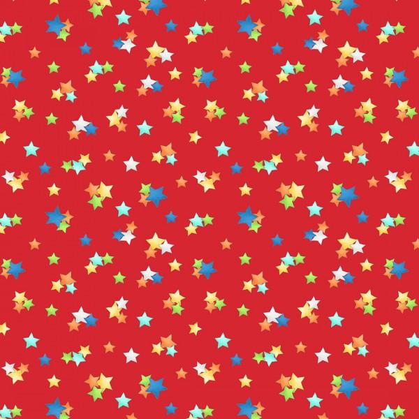Best in Class by Wilmington Prints Red Star Toss #65181 315