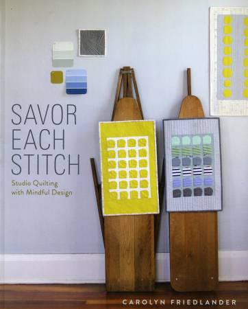 BK- Savor Each Stitch - Softcover