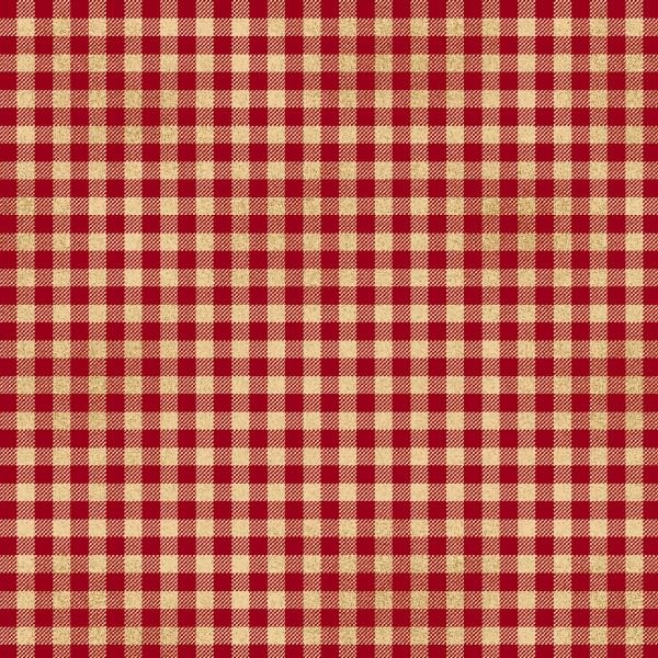 Welcome Wagon 6565-88 Red Checkerboard