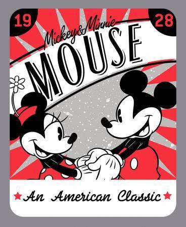 Disney Mickey & Minnie An American Classic Panel