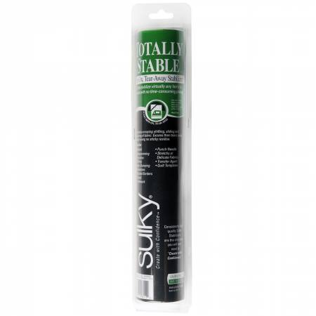 Sulky Totally Stable Stabilizer - White - 12'' x 12 yd. Roll
