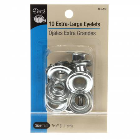 Extra Large Eyelet Refill Zinc 10 ct 7/16in