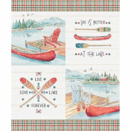 3225 Multi Lake Moments 36in Panel Digitally Printed