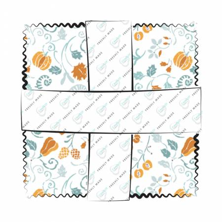 Autumn Impressions charm pack 42pcs/bundle