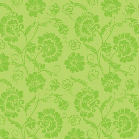 Aged Floral Lime- Patrick Lose 1649-2273