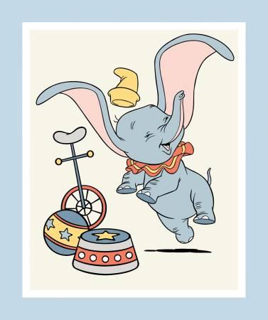 Disney Dumbo Panel