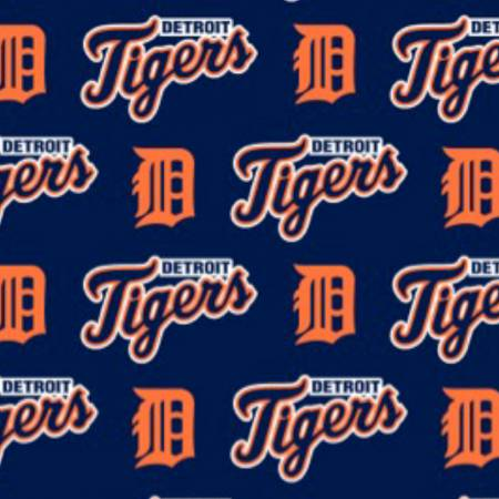 MLB Cotton Detroit Tigers