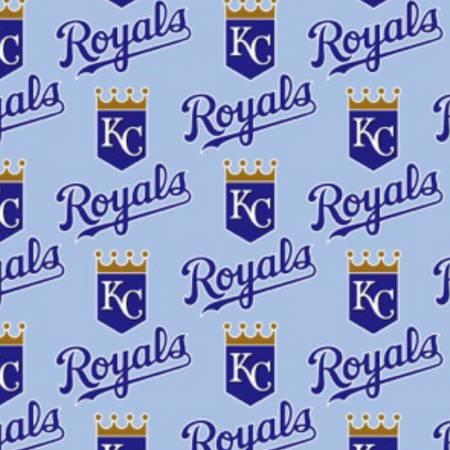 Fabric Traditions-MLB Cotton Kansas City Royals 60
