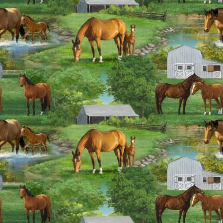Wild Wings Summer Breeze Horse Scenic
