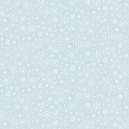 Light Turquoise Whisper Snowflake