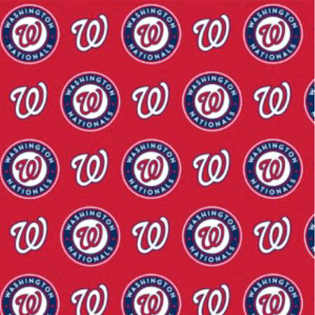 MLB Cotton Washington Nationals - 60in wide