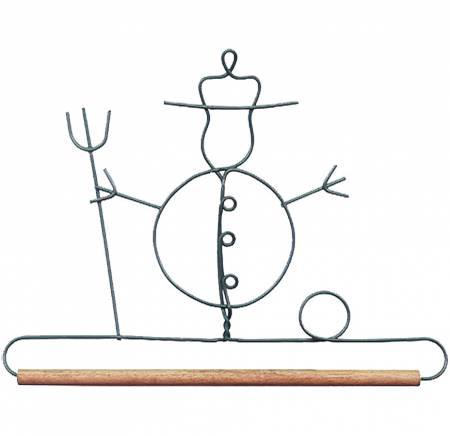 6in Snowman Decorative Craft Hanger