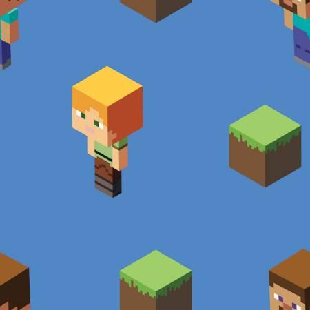 Minecraft Alex & Steve Toss