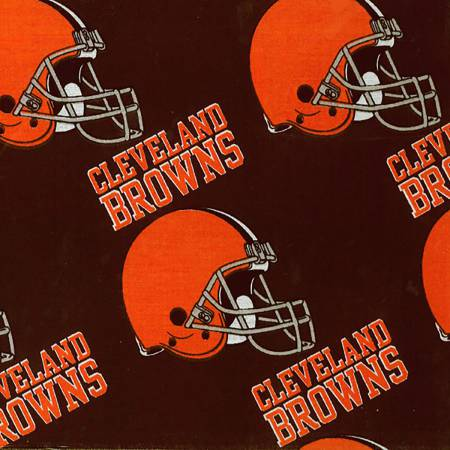 NFL Cleveland Browns Cotton Fabric - 6735-D