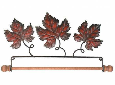 7-1/2in Autumn Leaf Fabric Holder