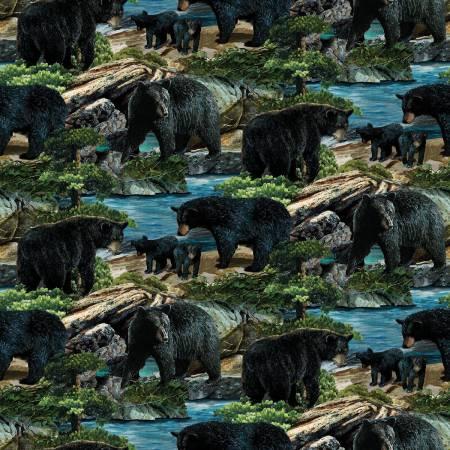 Wild Wings Bears Allover