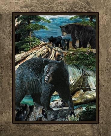 Wild Wings Bear Wall Panel