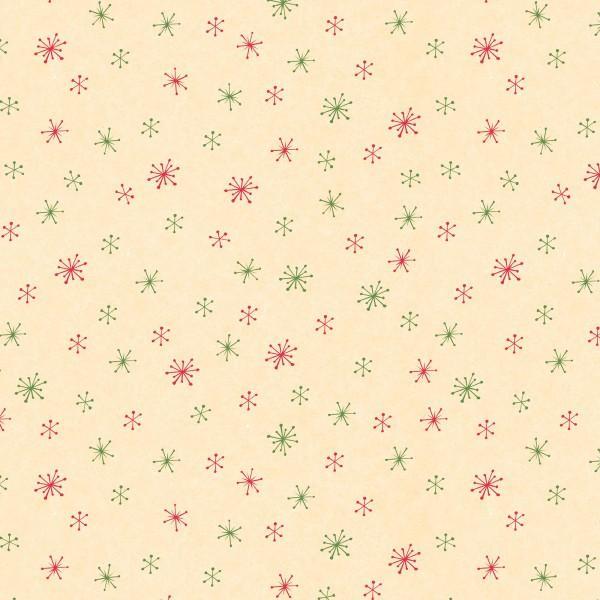 Tan Snowflakes 67553-137