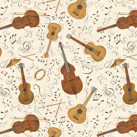 Ivory Wood Instrument Toss