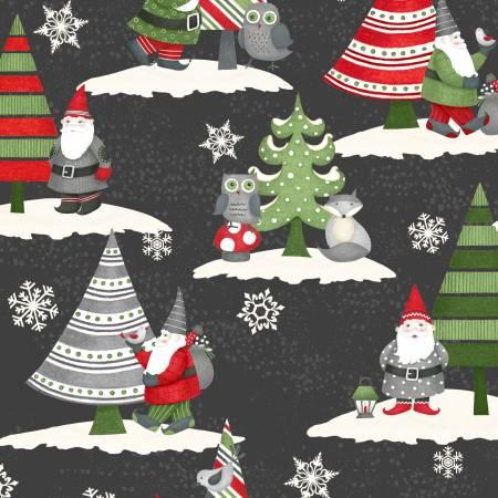 Winter Gnomes Black Scenic Gnomes 67572-973