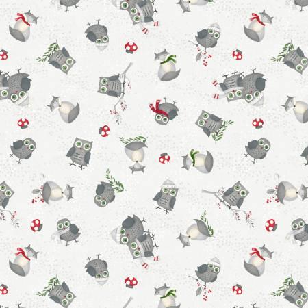 Winter Gnomes Grey Animal Toss 67574-903