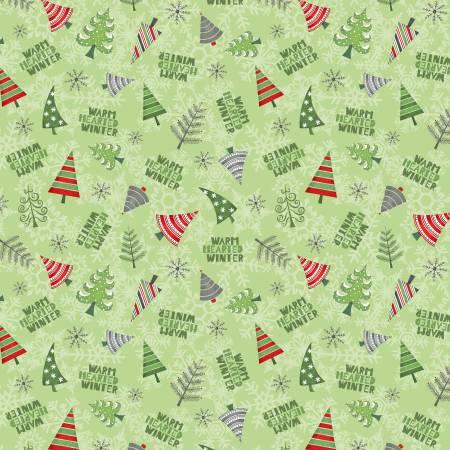 Winter Gnomes Green Winter Tree Toss 67575-737