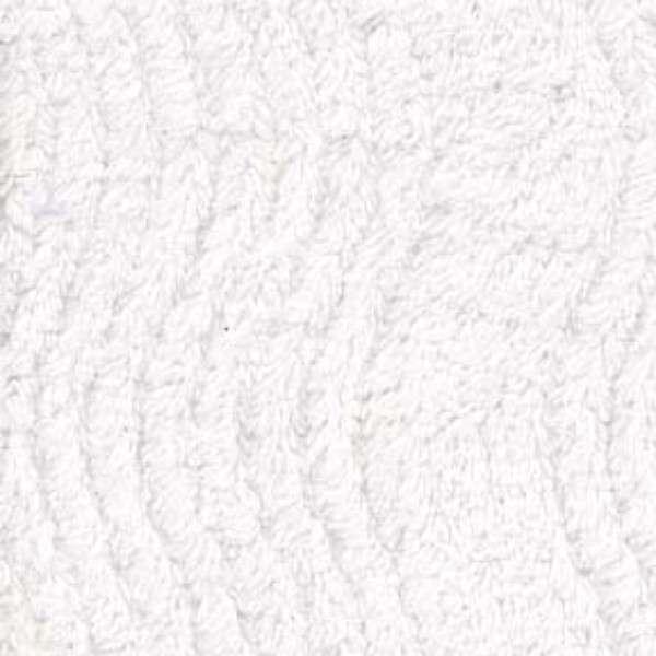 Chenille White Wavy by Benartex 00676 09