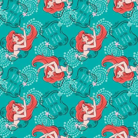 Disney The Little Mermaid Ariel Toss Fleece