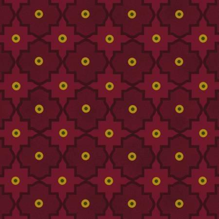 Abundant Blessings - Red Mosaic