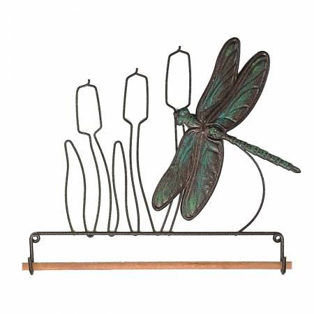 7-1/2in Dragonfly Fabric Holder - 68097