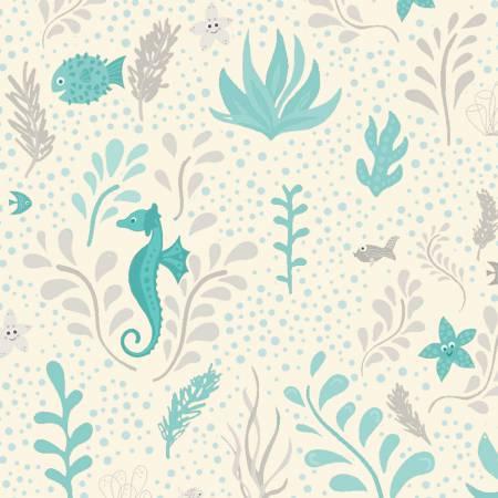 Big Splash - Seahorse Cream/Blue
