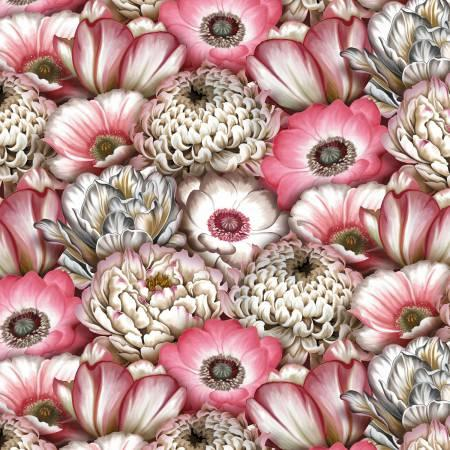 Pink Large Packed Floral