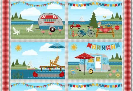 Happy Glamping Placemats (set of 4)