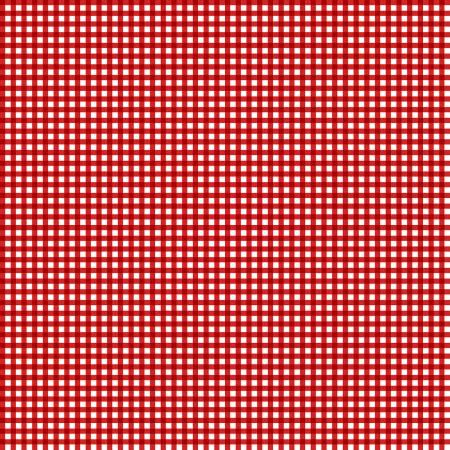 Let's Go Camping 68418 133 Red/White check