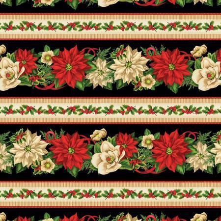 Multi Holiday Lane Repeating Stripe