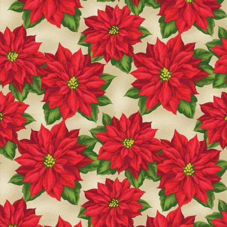 Tan Poinsettia