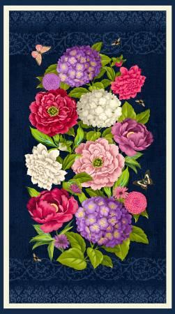 Floral Serenade Panel
