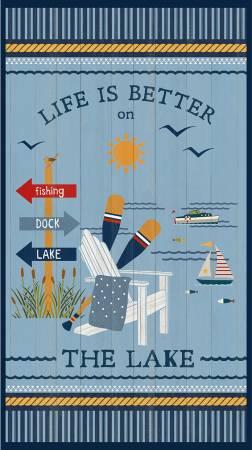 Multi Lake Life Large Panel