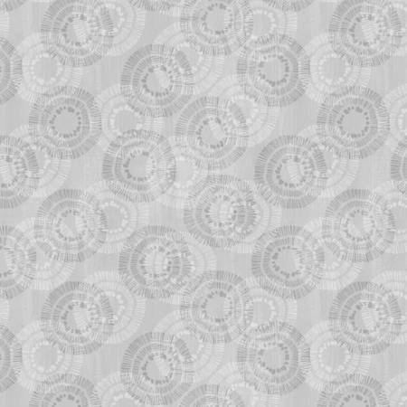 Wilmington Prints Circle Burst Light Grey 3007 68523 909