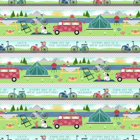 Adventure Time - Border Stripe