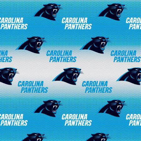 NFL Black Carolina Panthers Cotton 60in