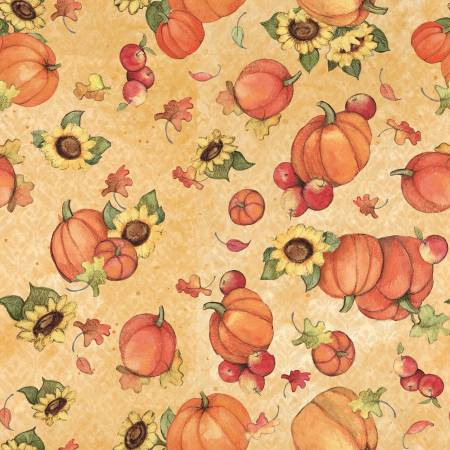 Harvest Pumpkin & Sunflower Toss